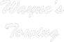 Wayne's Towing